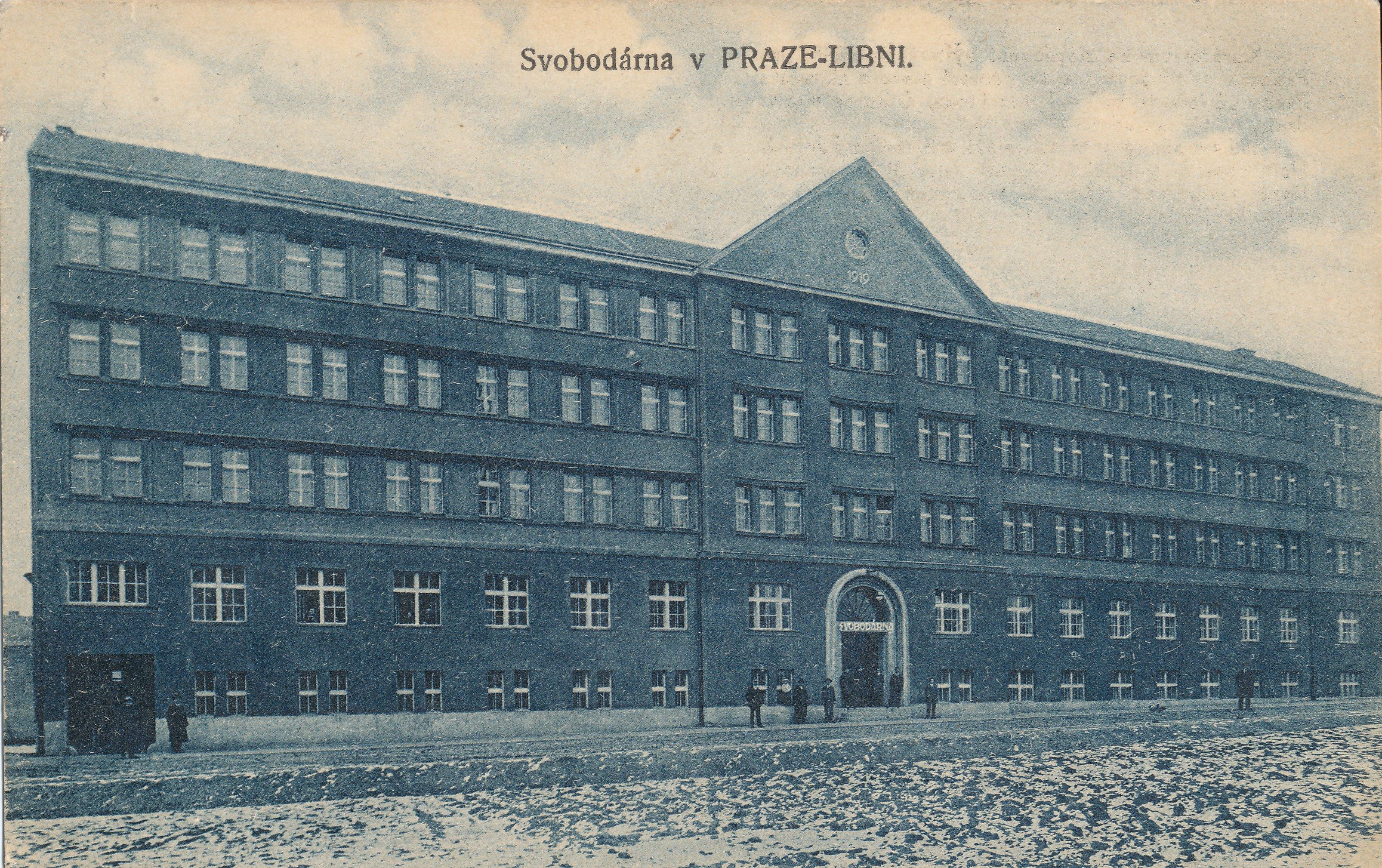 Svobodárna v Praze - Libni