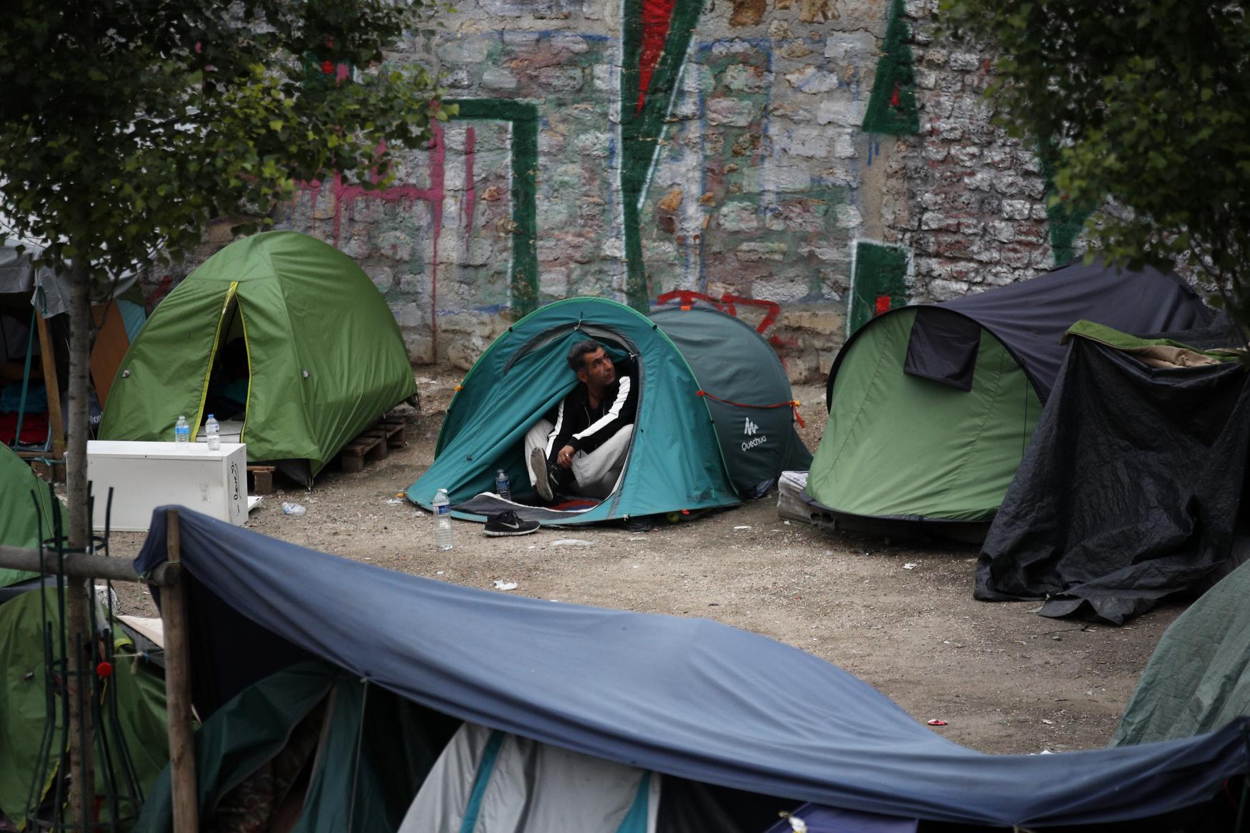 Uprchlíci v Paříži