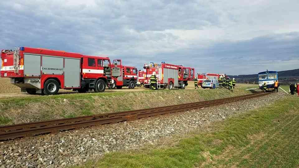 Nehoda vlaků u Ronova nad Doubravou