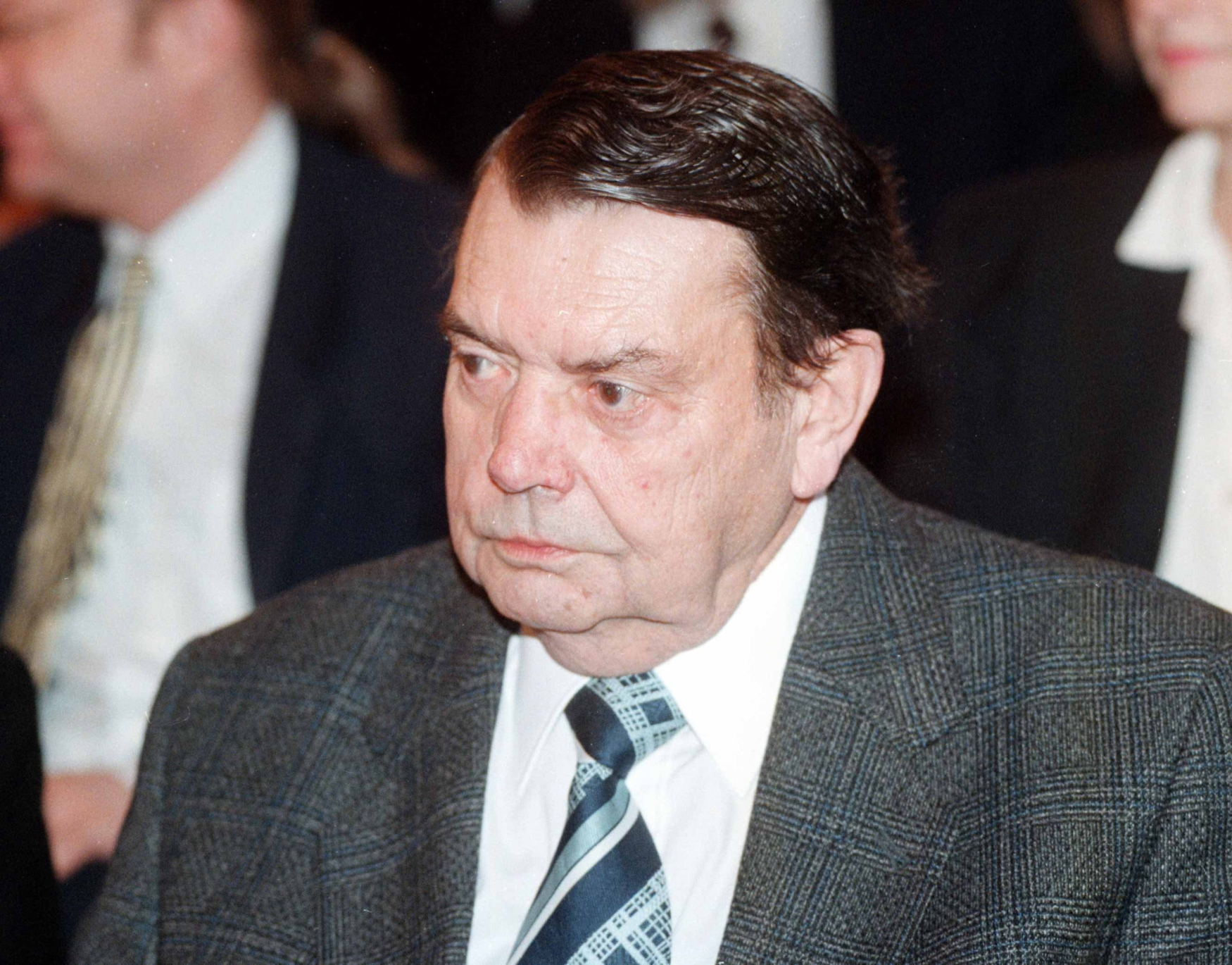 Spisovatel Karel Pecka v roce 1996