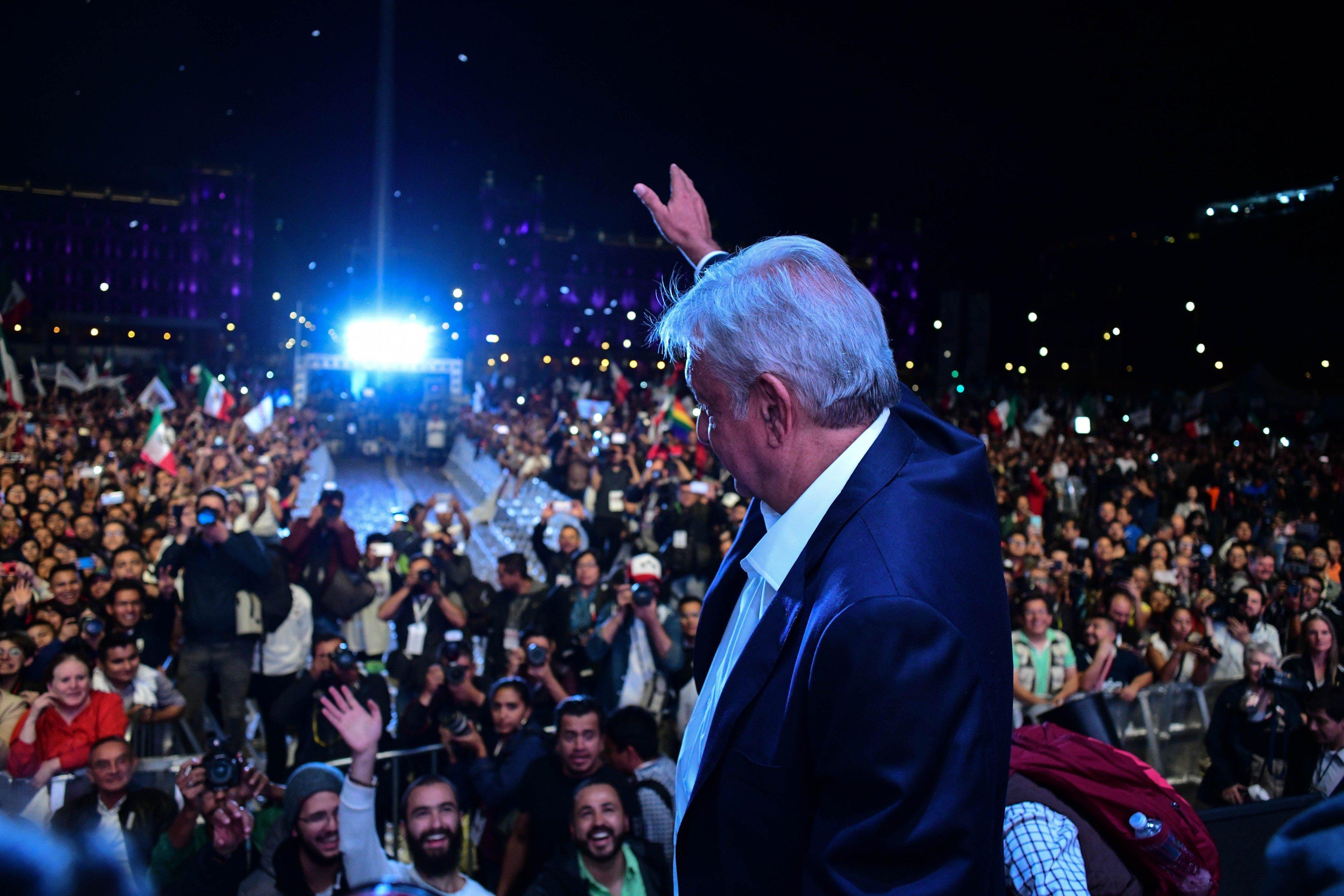 Nový prezident Mexika Manuel López Obrador