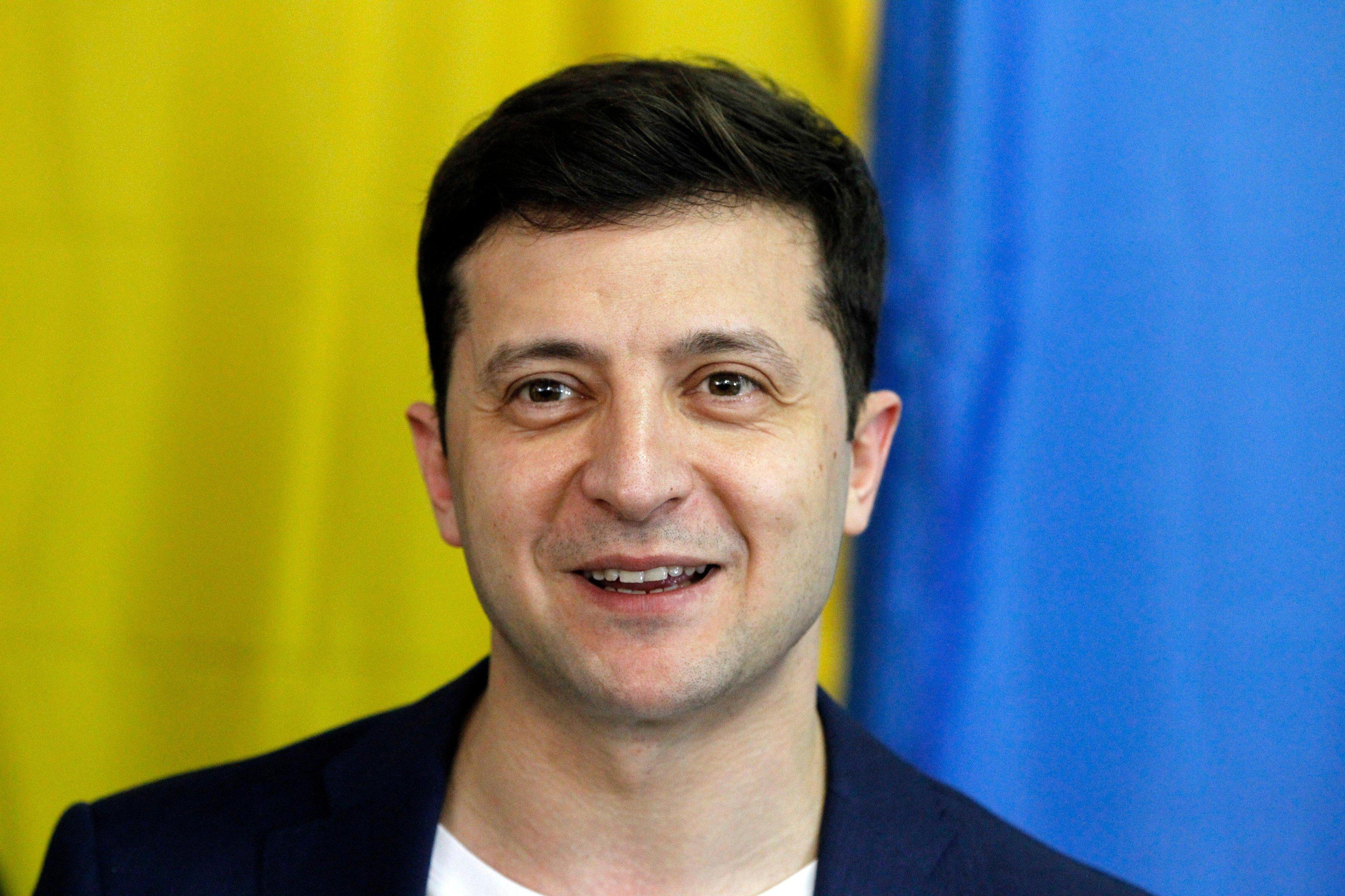 Prezidentské volby na Ukrajině vyhrál herec a komik Volodymyr Zelenskyj