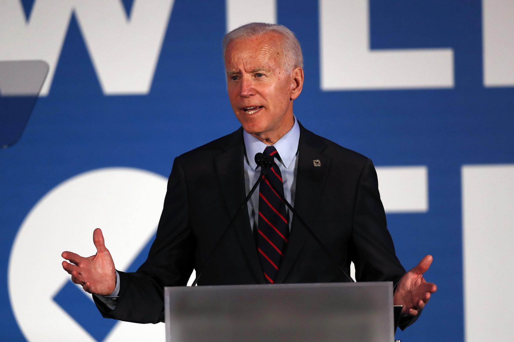 Demokratický kandidát Joe Biden