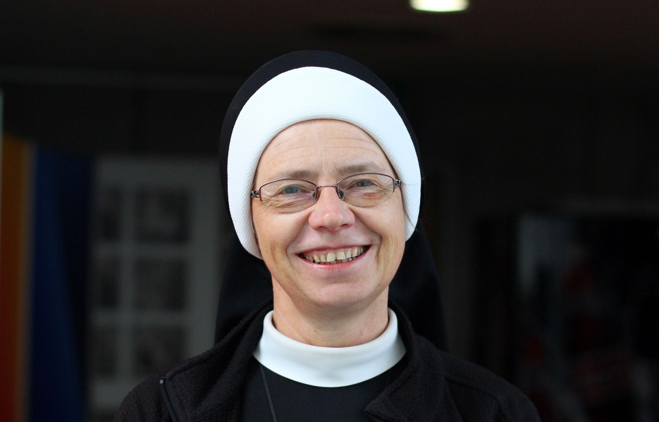 sestra Angelika Pintířová, řeholnice