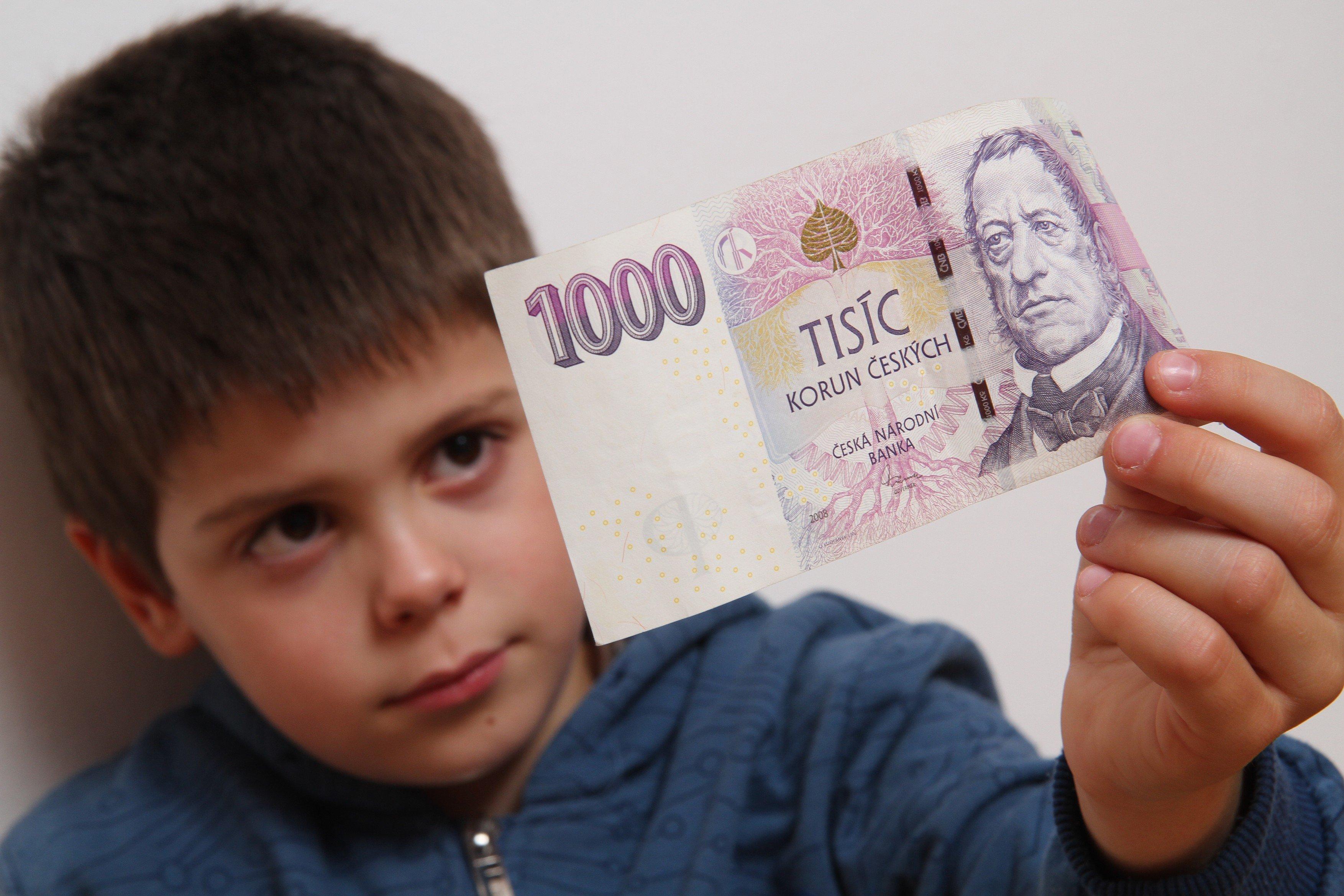 Díte a peníze, tisícovka