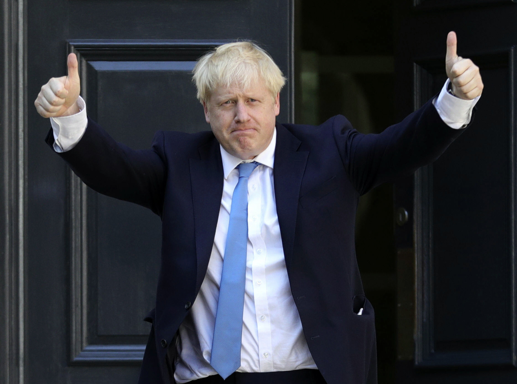 Nový vůdce britských konzervativců, bývalý londýnský primátor a neúspěšný ministr zahraničí Boris Johnson