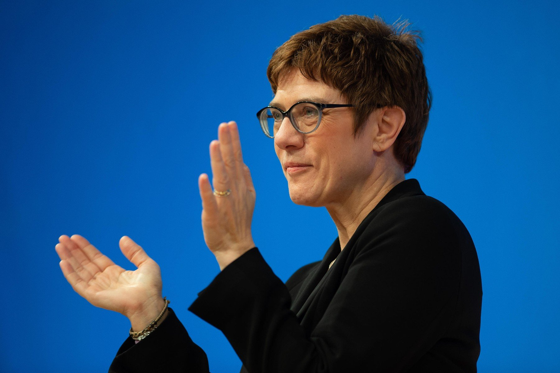 Předsedkyně CDU Annegret Krampová-Karrenbauerová