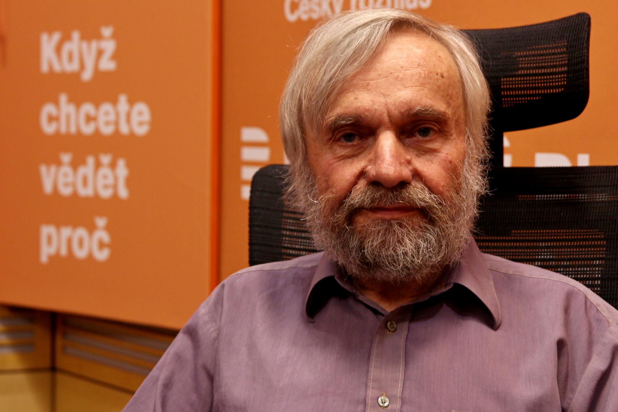 Divadelní a mediální kritik Vladimír Just