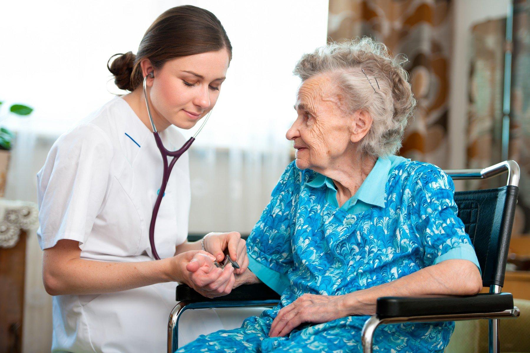 Pečovatelská služba v domácím prostředí