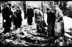 Nález těl v Katyňském lese v roce 1940