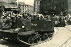 Obrněná birgáda, Praha 1945