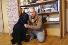 Tomáš Nagy se svým kanisterapeutickým psem