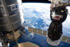 Mezinárodní vesmírná stanice (ISS) nad Brazílií (archivní foto)