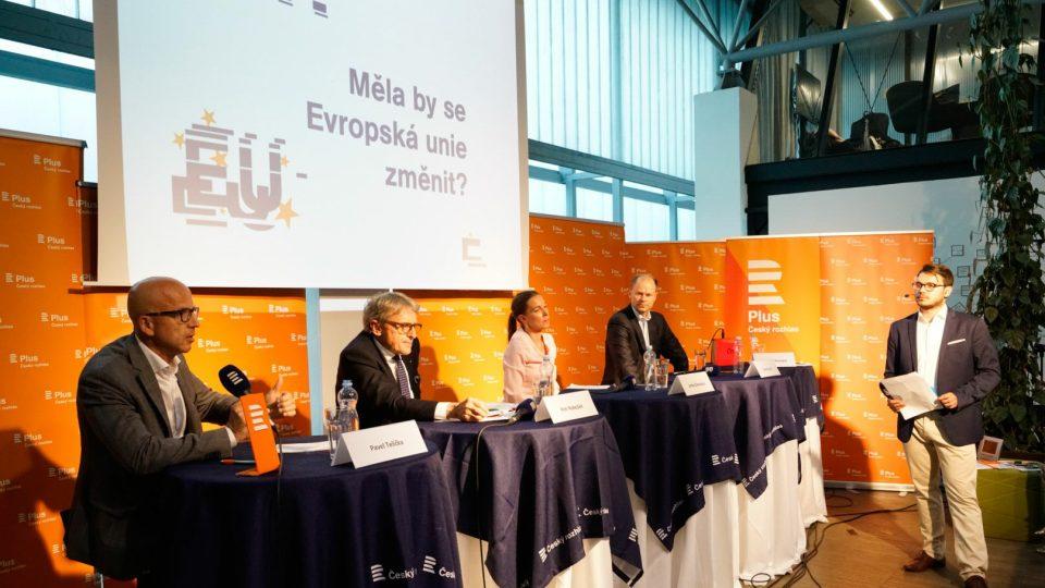 Veřejná debata Plusu v Brně