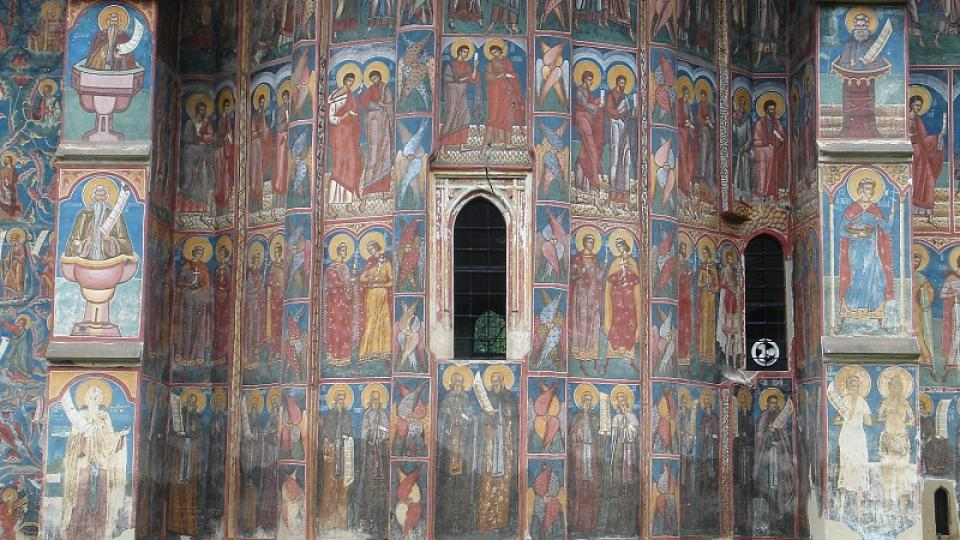 Kostel v klášteře Voronet