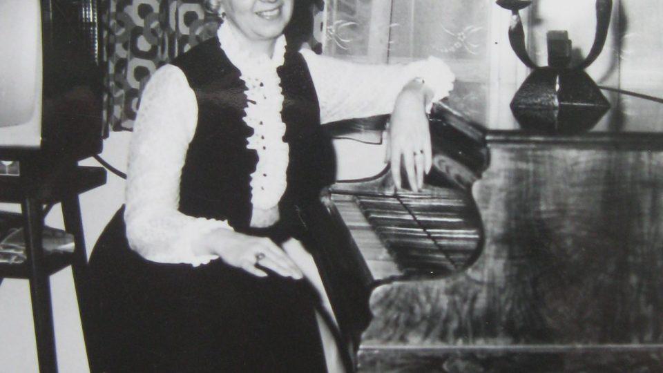 Dana Vargová v roce 1972