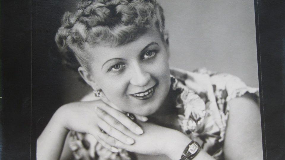 Dana Vargová v roce 1947