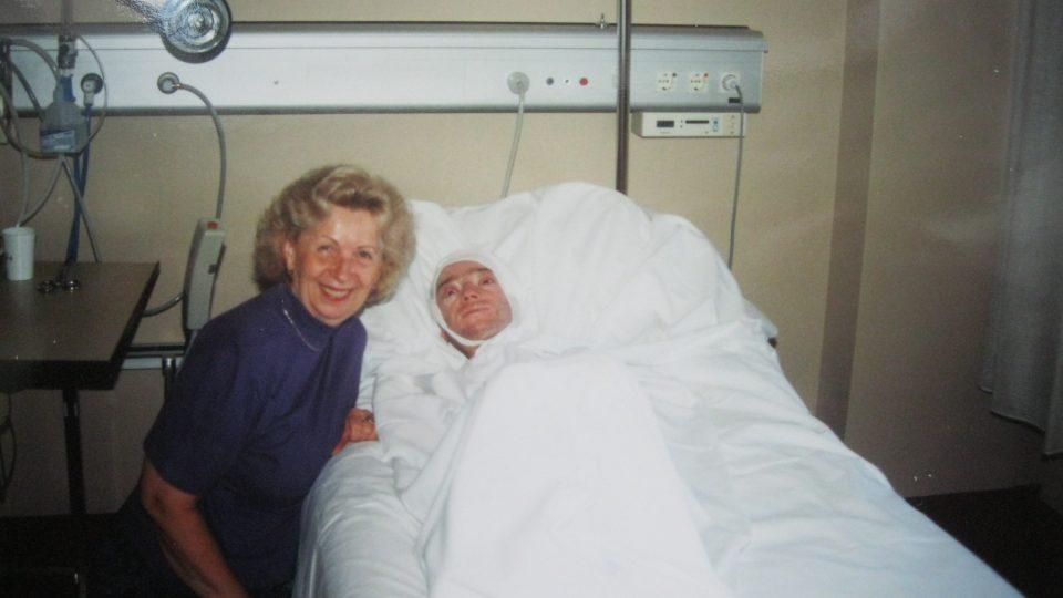 Julius Varga s matkou v nemocnici