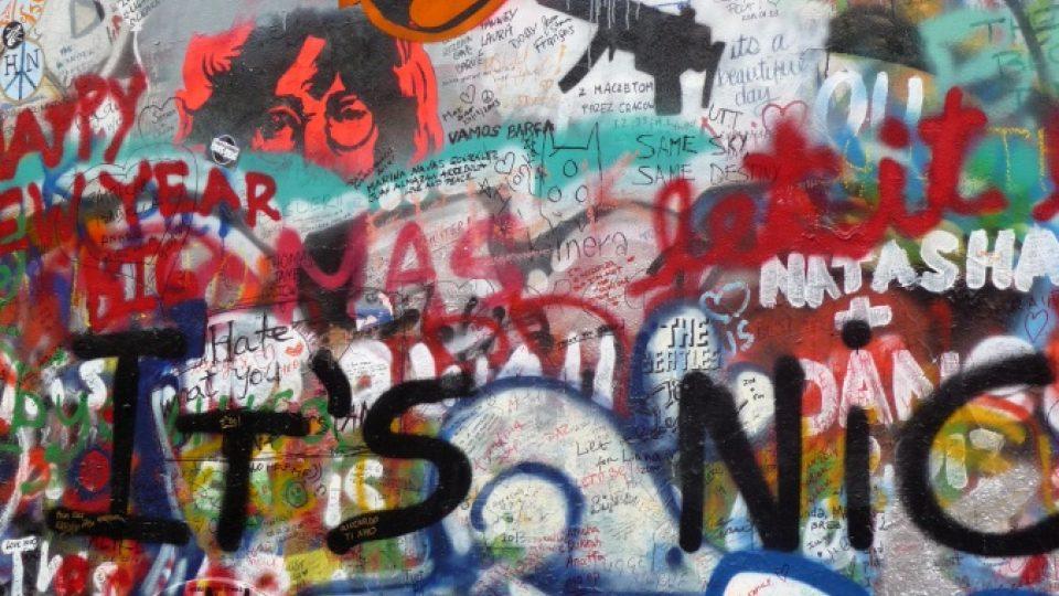 Obrázky Johna Lennona jsou tu i dnes