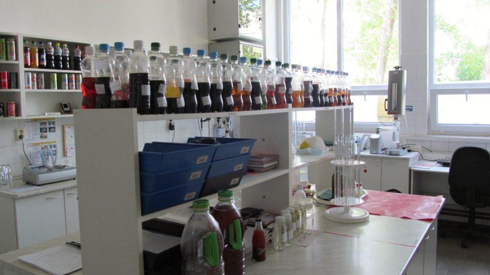 Laboratoř je součástí celého výrobního procesu