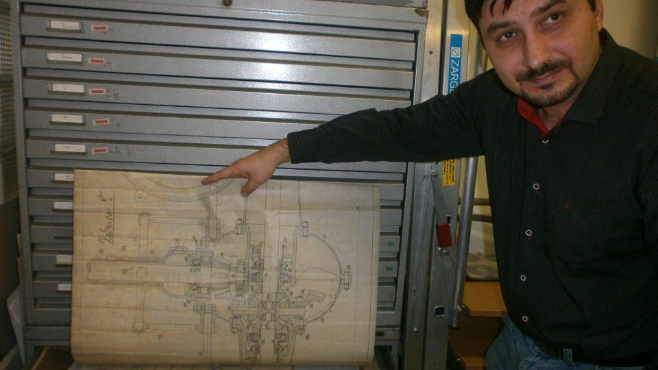 Lukáš Nachtmann - archivář Škody Auto