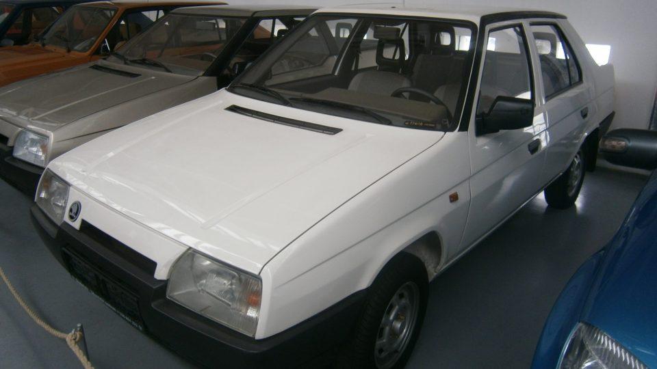 Škoda Favorit - prototyp sedanu
