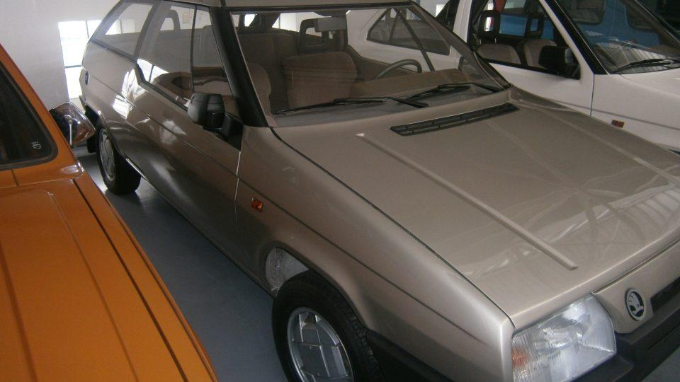 Škoda Favorit Coupé - prototyp