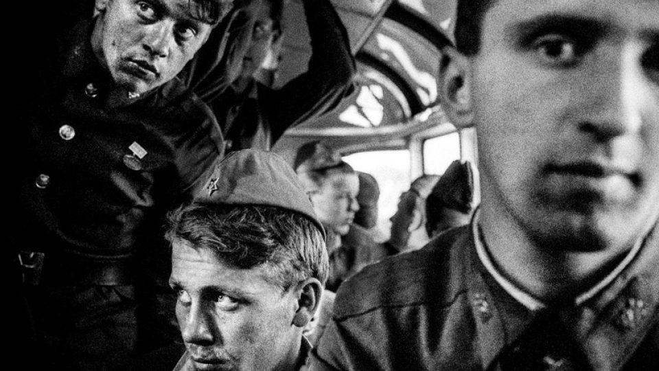 Karel Cudlín: Odchod sovětských vojsk (1991)