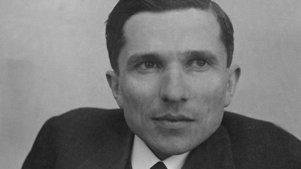 Básník Jan Zahradníček