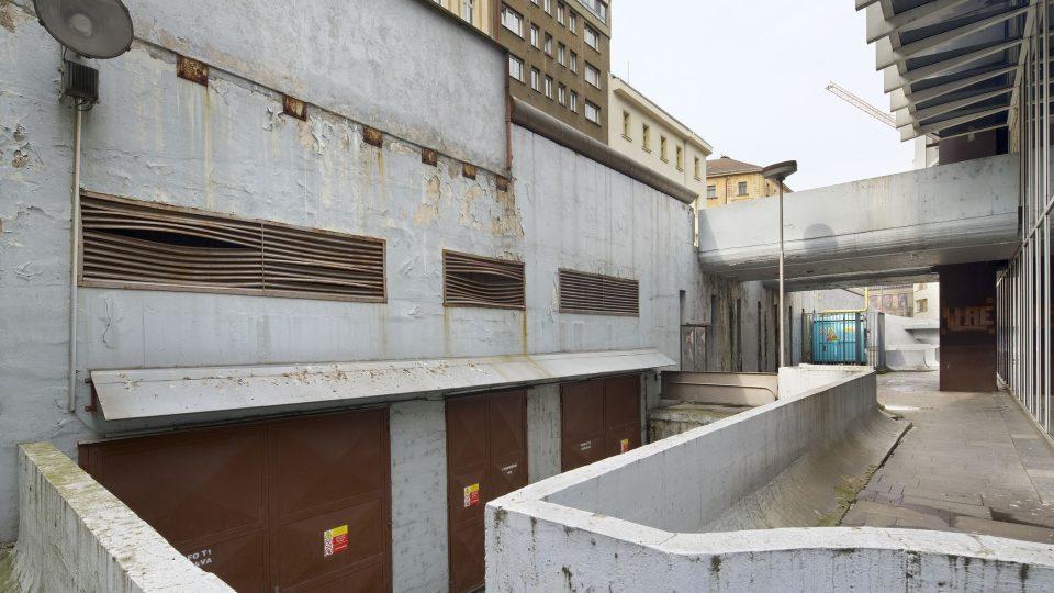 Komplex budov Transgas, současný stav