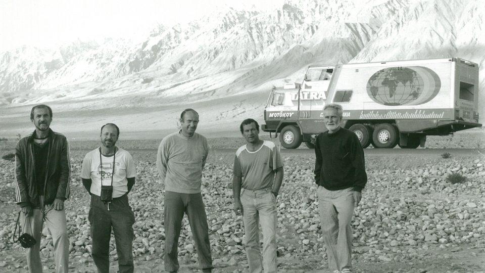 Tatra 815 GTC – výprava v Himálaji, už bez Františka Jeniše