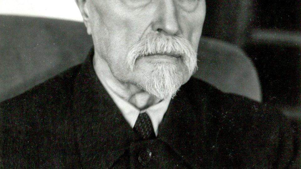Prezident T. G. Masaryk v posledních letech života