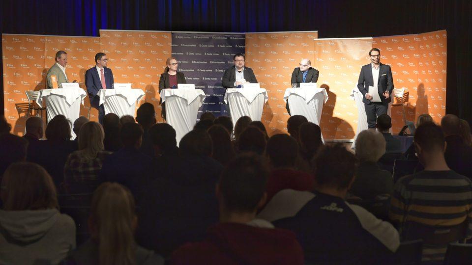 Veřejná debata Českého rozhlasu Plus na téma Fenomén Miloš Zeman