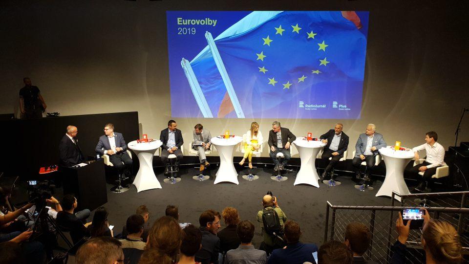Superdebata s kandidáty do europarlamentu