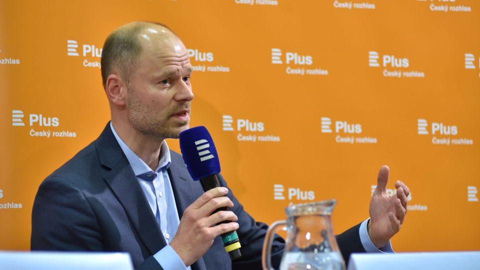 Radek Špicar; Veřejná debata Plusu na téma Konec migrace?