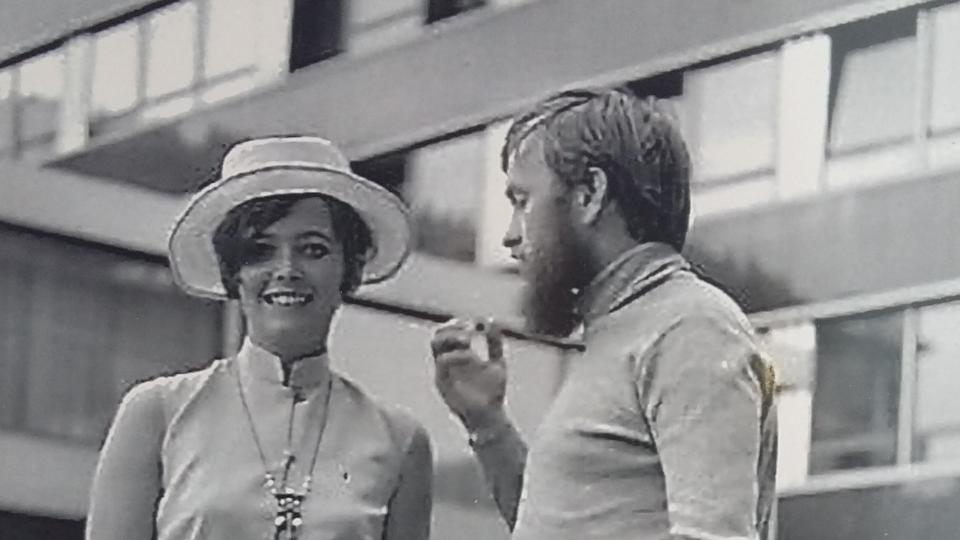 S Josefem po příjezdu do Německa, 1968