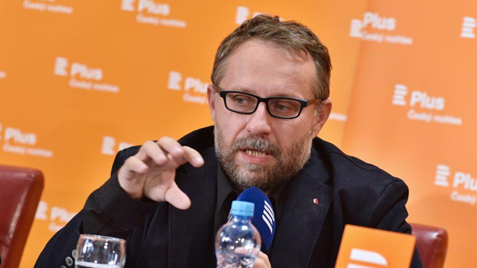 Scenárista a kreativní producent České televize Tomáš Baldýnský