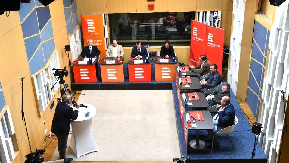 Čtvrtá debata kandidátů do europarlamentu