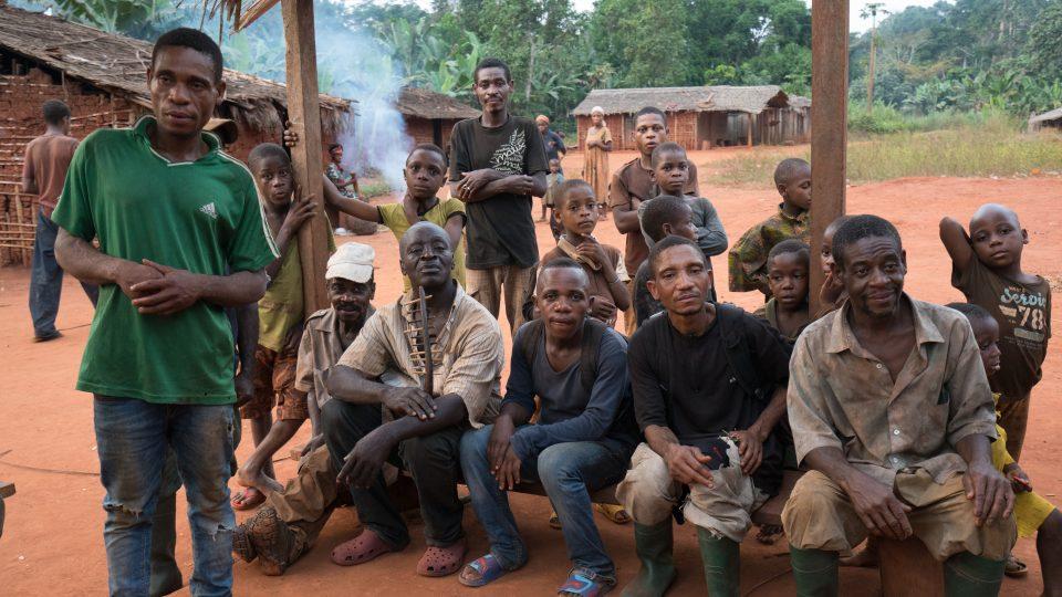 Pygmejové z kmene Baka