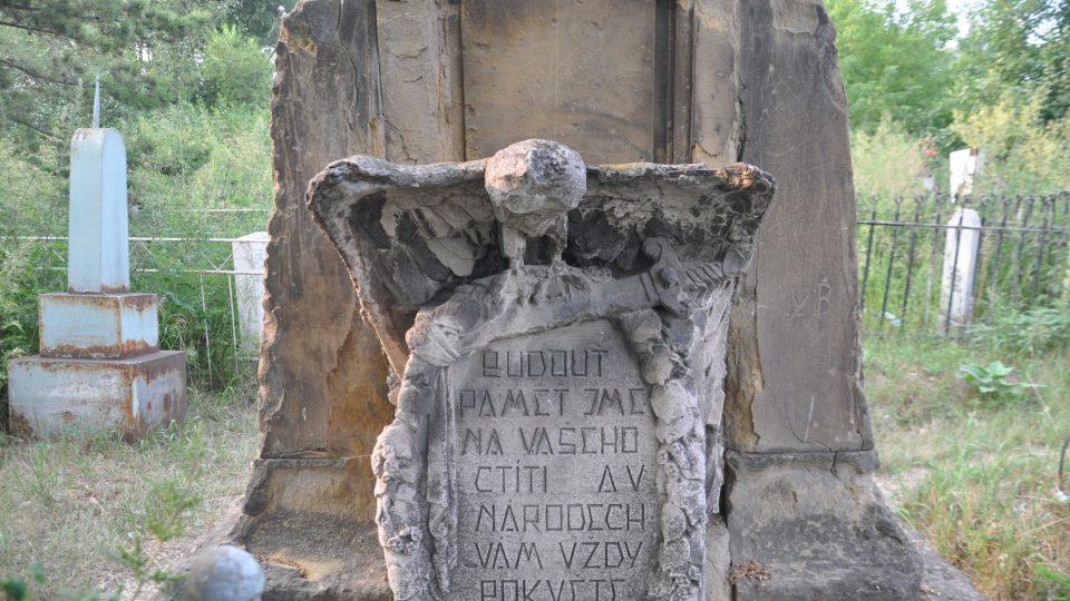 Po stopách čs. legionářů: památník v Krasnojarsku