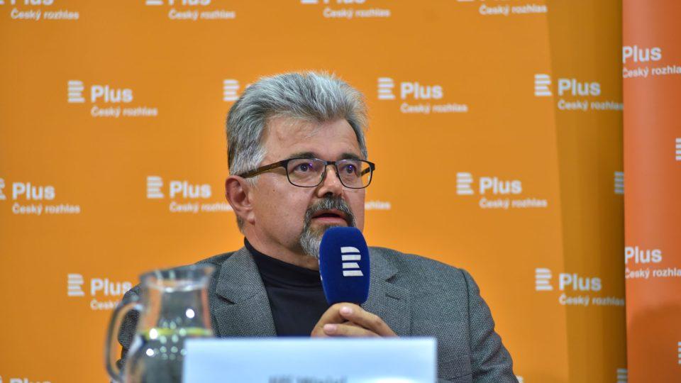 Jiří Weigl (veřejná debata Plusu na téma Konec migrace?)