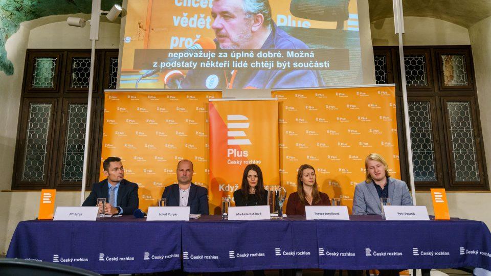 Hosté: Jiří Ježek, Lukáš Curylo, Markéta Kutilová, Tereza Jurečková a Petr Svatoň