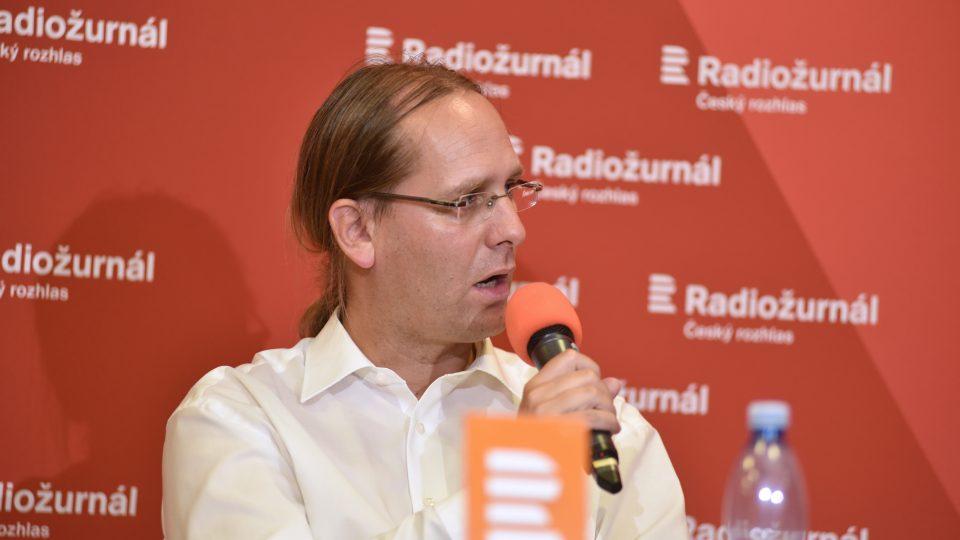 ústavní právník Jan Wintr, host předvolební debaty věnované krajům