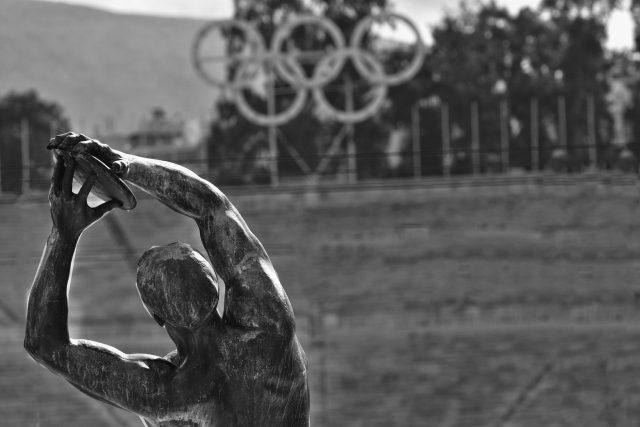 olympiáda - olympijské kruhy