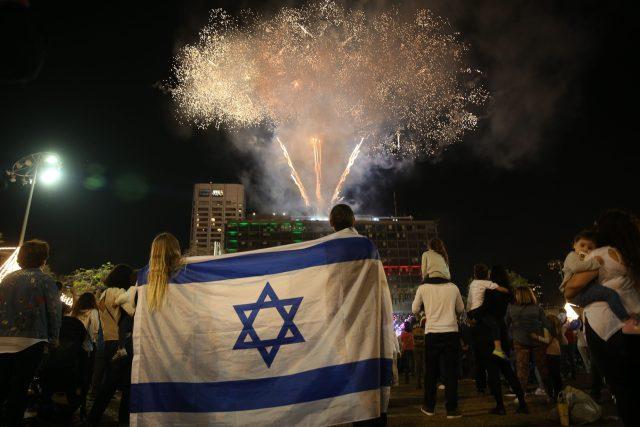 Oslava 70. výročí nezávislosti Izraele