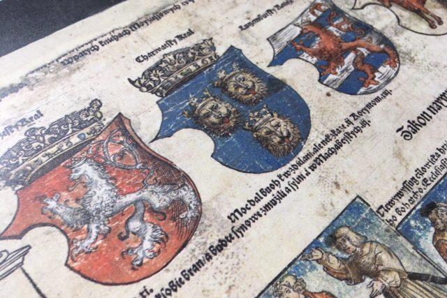 Litoměřický archiv vystavuje Klaudyánovu mapu, nejstarší tištěnou mapu Čech