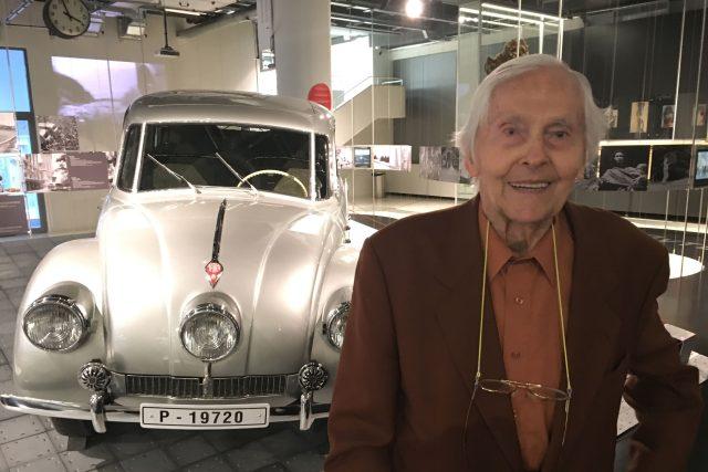 Miroslav Zikmund u legendární Tatry 87