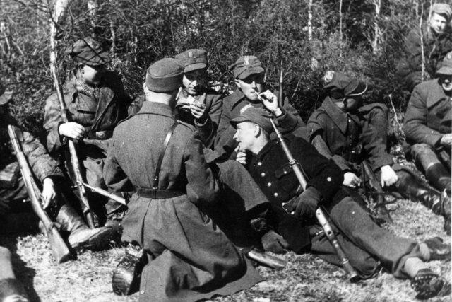 Vojáci polské Zemské armády v roce 1944