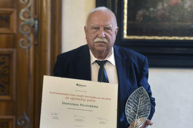 Stanislav Pernický získal Cenu Josefa Vavrouška | foto: Michaela Říhová,  ČTK