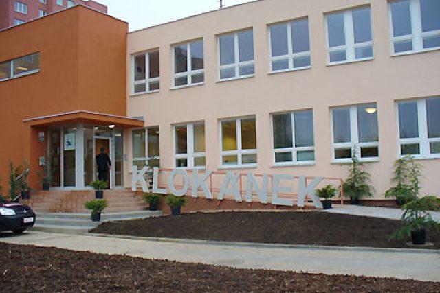 Budova zařízení Fondu ohrožených dětí Klokánek v Brně-Líšni